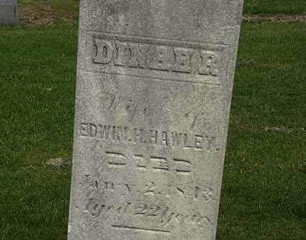 HAWLEY, DINAH R. - Lorain County, Ohio | DINAH R. HAWLEY - Ohio Gravestone Photos