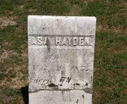HAYDEN, ASA - Lorain County, Ohio | ASA HAYDEN - Ohio Gravestone Photos