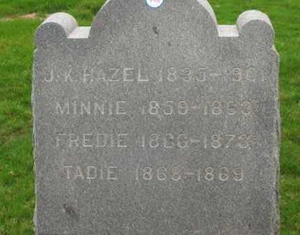 HAZEL, FREDIE - Lorain County, Ohio | FREDIE HAZEL - Ohio Gravestone Photos