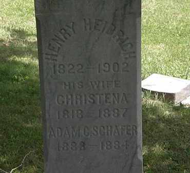 HEIDRICH, CHRISTENA - Lorain County, Ohio   CHRISTENA HEIDRICH - Ohio Gravestone Photos