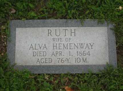 HEMENWAY, RUTH - Lorain County, Ohio   RUTH HEMENWAY - Ohio Gravestone Photos