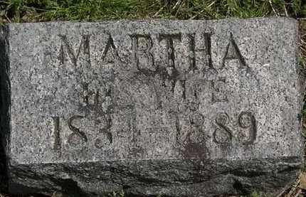HENNING, MARTHA - Lorain County, Ohio | MARTHA HENNING - Ohio Gravestone Photos
