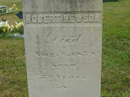 HEWSON, ROBERT - Lorain County, Ohio | ROBERT HEWSON - Ohio Gravestone Photos