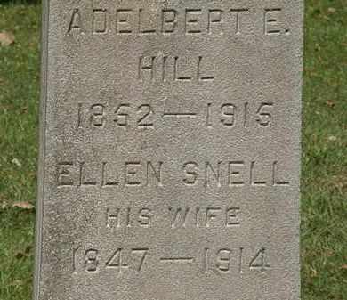 HILL, ADELBERT E. - Lorain County, Ohio | ADELBERT E. HILL - Ohio Gravestone Photos