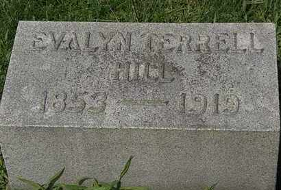 TERRELL HILL, EVALYN - Lorain County, Ohio | EVALYN TERRELL HILL - Ohio Gravestone Photos