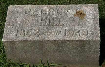 HILL, GEORGE E. - Lorain County, Ohio | GEORGE E. HILL - Ohio Gravestone Photos
