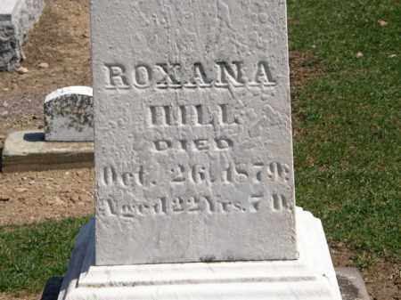 HILL, ROXANA - Lorain County, Ohio | ROXANA HILL - Ohio Gravestone Photos