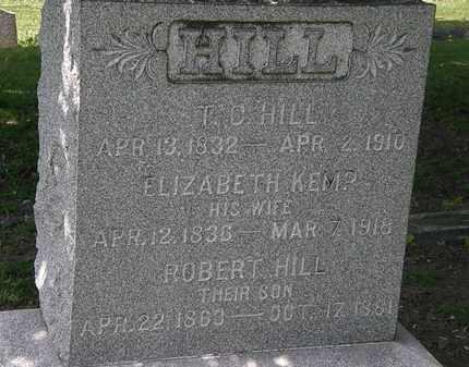 HILL, ROBERT - Lorain County, Ohio | ROBERT HILL - Ohio Gravestone Photos