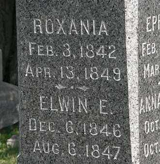 HILLS, ROXANIA - Lorain County, Ohio | ROXANIA HILLS - Ohio Gravestone Photos