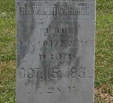 HITCHCOCK, WM. M. - Lorain County, Ohio   WM. M. HITCHCOCK - Ohio Gravestone Photos