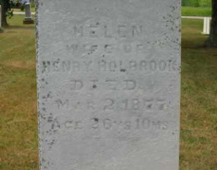 HOLBROOK, HENRY - Lorain County, Ohio | HENRY HOLBROOK - Ohio Gravestone Photos