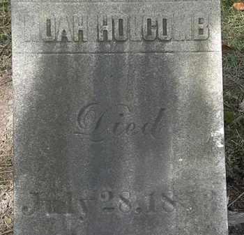 HOLCOMB, NOAH - Lorain County, Ohio | NOAH HOLCOMB - Ohio Gravestone Photos