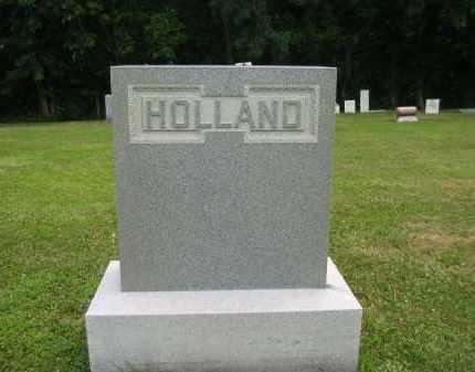 HOLLAND, FAMILY - Lorain County, Ohio | FAMILY HOLLAND - Ohio Gravestone Photos