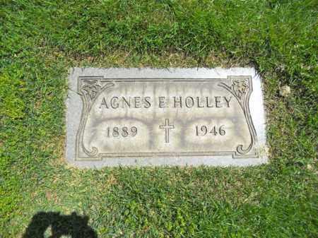 HOLLEY, AGNES E. - Lorain County, Ohio | AGNES E. HOLLEY - Ohio Gravestone Photos