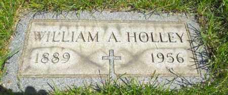 HOLLEY, WILLIAM A. - Lorain County, Ohio   WILLIAM A. HOLLEY - Ohio Gravestone Photos