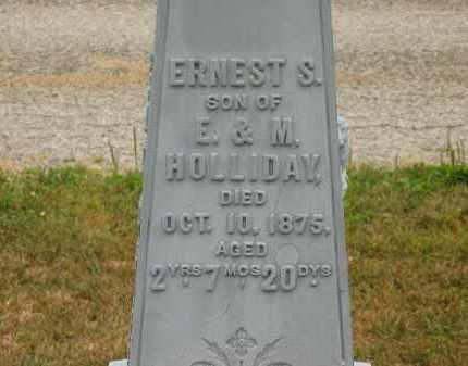 HOLLIDAY, M. - Lorain County, Ohio | M. HOLLIDAY - Ohio Gravestone Photos