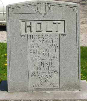 HOLT, JENNIE - Lorain County, Ohio | JENNIE HOLT - Ohio Gravestone Photos