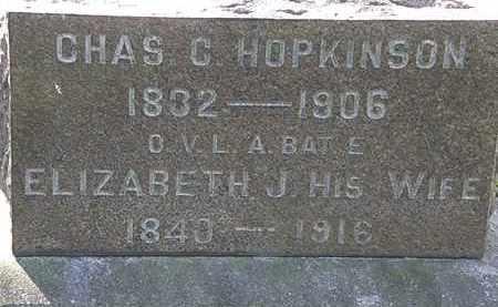 HOPKINSON, ELIZABETH J. - Lorain County, Ohio | ELIZABETH J. HOPKINSON - Ohio Gravestone Photos