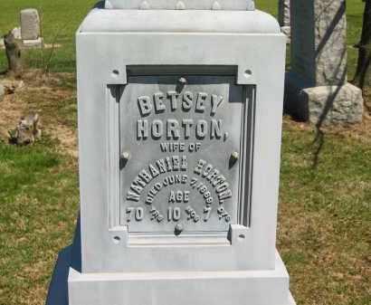 HORTON, BETSY - Lorain County, Ohio | BETSY HORTON - Ohio Gravestone Photos