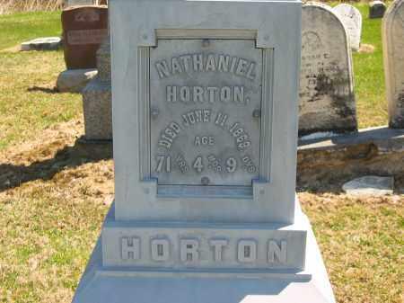 HORTON, NATHANIEL - Lorain County, Ohio   NATHANIEL HORTON - Ohio Gravestone Photos