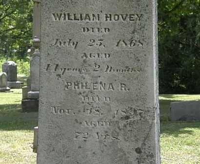 HOVEY, WILLIAM - Lorain County, Ohio | WILLIAM HOVEY - Ohio Gravestone Photos