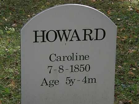 HOWARD, CAROLINE - Lorain County, Ohio | CAROLINE HOWARD - Ohio Gravestone Photos