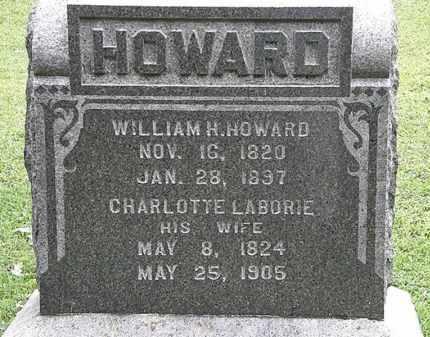 HOWARD, WILLIAM H. - Lorain County, Ohio | WILLIAM H. HOWARD - Ohio Gravestone Photos