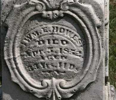 HOWES, WM. E - Lorain County, Ohio | WM. E HOWES - Ohio Gravestone Photos