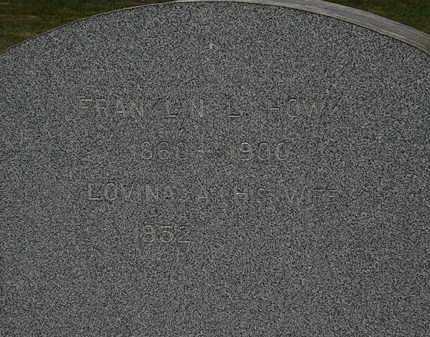 HOWK, FRANKLIN L. - Lorain County, Ohio | FRANKLIN L. HOWK - Ohio Gravestone Photos