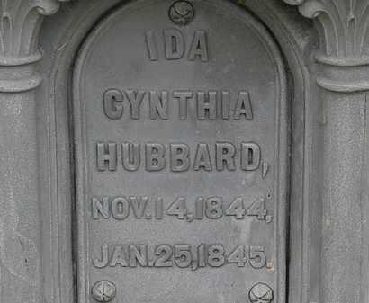 HUBBARD, IDA CYNTHIA - Lorain County, Ohio   IDA CYNTHIA HUBBARD - Ohio Gravestone Photos