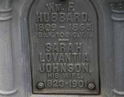 HUBBARD, WM. F. - Lorain County, Ohio | WM. F. HUBBARD - Ohio Gravestone Photos