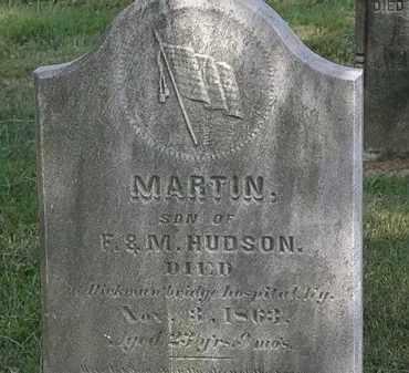 HUDSON, MARTIN - Lorain County, Ohio | MARTIN HUDSON - Ohio Gravestone Photos