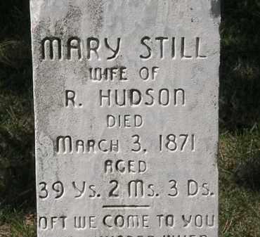 HUDSON, MARY - Lorain County, Ohio   MARY HUDSON - Ohio Gravestone Photos