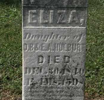 HULBURT, E.A. - Lorain County, Ohio | E.A. HULBURT - Ohio Gravestone Photos