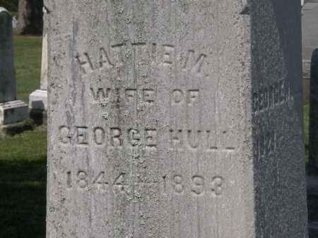 HULL, HATTIE M. - Lorain County, Ohio   HATTIE M. HULL - Ohio Gravestone Photos
