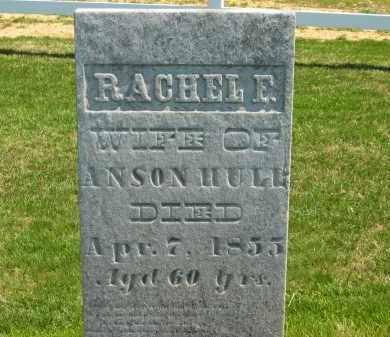 HULL, RACHEL F. - Lorain County, Ohio | RACHEL F. HULL - Ohio Gravestone Photos