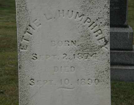 HUMPHREY, ETTIE L. - Lorain County, Ohio | ETTIE L. HUMPHREY - Ohio Gravestone Photos