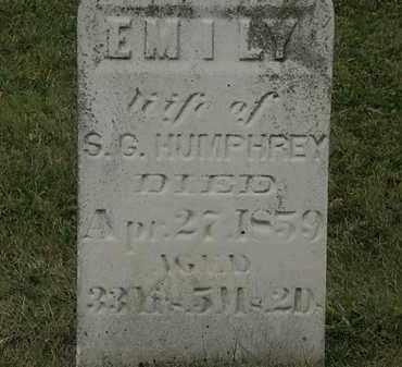 HUMPHREY, S.G. - Lorain County, Ohio | S.G. HUMPHREY - Ohio Gravestone Photos