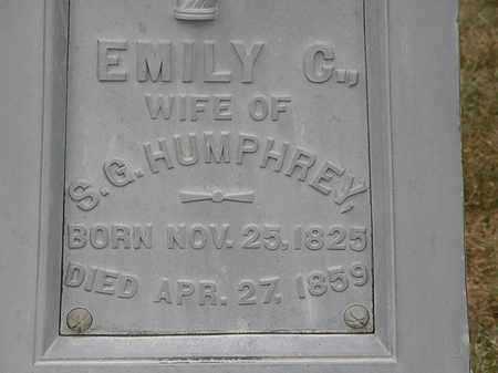 HUMPHREY, EMILY C. - Lorain County, Ohio | EMILY C. HUMPHREY - Ohio Gravestone Photos