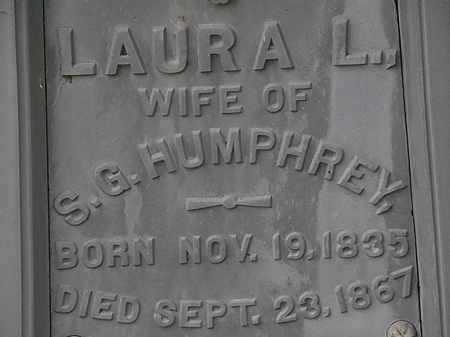HUMPHREY, LAURA L. - Lorain County, Ohio | LAURA L. HUMPHREY - Ohio Gravestone Photos