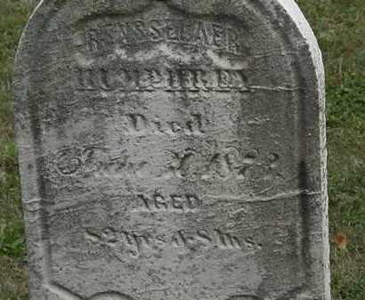 HUMPHREY, RENSSLAER - Lorain County, Ohio | RENSSLAER HUMPHREY - Ohio Gravestone Photos