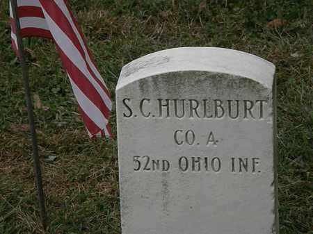 HURLBURT, S.C. - Lorain County, Ohio | S.C. HURLBURT - Ohio Gravestone Photos