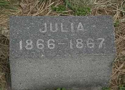 HURLBUT, JULIA - Lorain County, Ohio   JULIA HURLBUT - Ohio Gravestone Photos