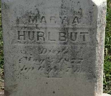 HURLBUT, MARY A. - Lorain County, Ohio   MARY A. HURLBUT - Ohio Gravestone Photos
