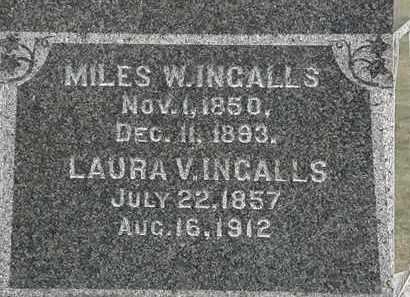 INGALLS, LAURA V. - Lorain County, Ohio | LAURA V. INGALLS - Ohio Gravestone Photos
