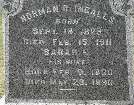 INGALLS, SARAH H. - Lorain County, Ohio | SARAH H. INGALLS - Ohio Gravestone Photos