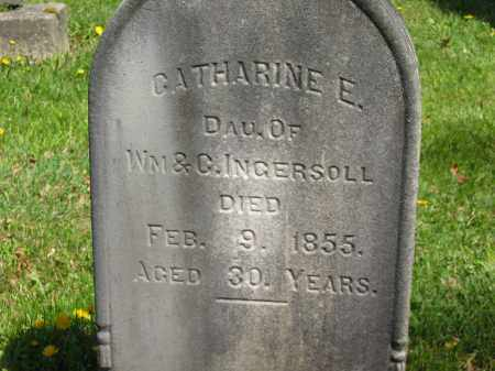 INGERSOLL, CATHARINE E. - Lorain County, Ohio | CATHARINE E. INGERSOLL - Ohio Gravestone Photos