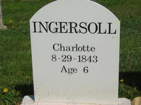 INGERSOLL, CHARLOTTE - Lorain County, Ohio | CHARLOTTE INGERSOLL - Ohio Gravestone Photos