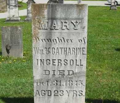 INGERSOLL, CATHARINE - Lorain County, Ohio | CATHARINE INGERSOLL - Ohio Gravestone Photos