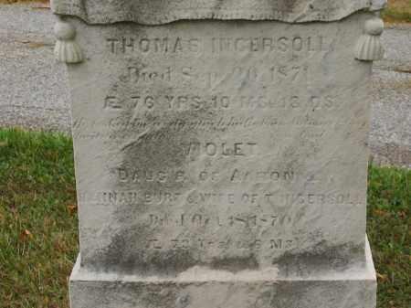 INGERSOLL, THOMAS - Lorain County, Ohio | THOMAS INGERSOLL - Ohio Gravestone Photos
